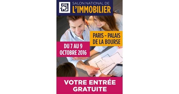 Salon de l immobilier de paris - Salon national de l immobilier ...