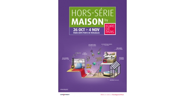 hors s rie maison by foire de paris. Black Bedroom Furniture Sets. Home Design Ideas
